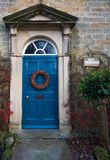 The Vicarage. Picture of doorway to english vicarage Royalty Free Stock Photos