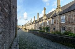 Vicars Close Wells B Stock Photo