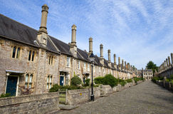 Vicars' Close in Wells. The historic Vicars' Close in Wells, Somerset Stock Image