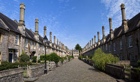 Vicars' Close in Wells. The historic Vicars' Close in Wells, Somerset Royalty Free Stock Images