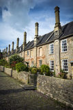Vicars Close Wells. The oldest purely residential street in Europe in Wells in Somerset Stock Photos