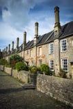 Vicars Close Wells Stock Photos