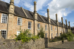 Vicars Close in Wells Royalty Free Stock Photo