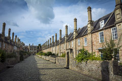 Vicars Close in Wells Royalty Free Stock Photos