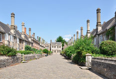 The Vicars' Close. Wells, Somerset, England Stock Photography