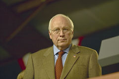 Vice candidato presidencial Cheney Foto de archivo libre de regalías