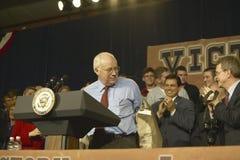 Vice candidato presidencial Dick Cheney Foto de archivo