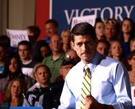 Vice President Candidate Paul Ryan Stock Photography