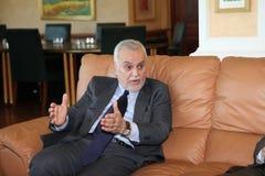 Vice-presidente iraquiano Foto de Stock
