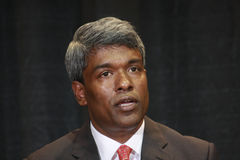 Vice-presidente Thomas Kurian de Oracle Imagem de Stock