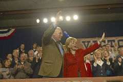 Vice Presidential candidate Dick Cheney. Campaign rally in Ohio attended by Vice Presidential candidate Dick Cheney, 2004 Stock Image