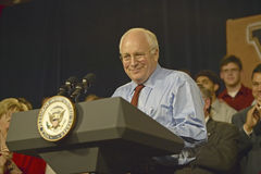 Vice Presidential candidate Dick Cheney Stock Photos