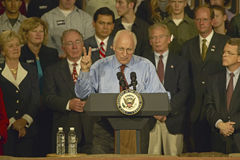 Vice Presidential candidate Dick Cheney Royalty Free Stock Image