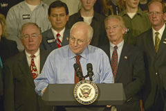 Vice Presidential candidate Dick Cheney Royalty Free Stock Photography