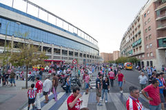 Vicente Calderon, Madrid, Spain Stock Image