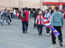 Vicente Calderon, Madrid, Spain Stock Photography