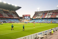 Vicente Calderon soccer stadium Stock Images