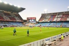 Vicente Calderon soccer stadium Stock Images