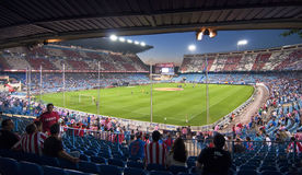 Vicente Calderon soccer stadium Stock Photos