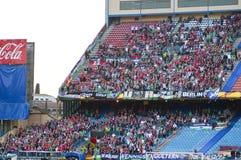 Vicente Calderon soccer stadium, Madrid Stock Image
