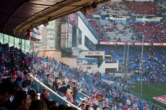 Vicente Calderon soccer stadium in Madrid, Spain Royalty Free Stock Photography