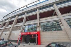 At Vicente Calderon Stadium Stock Images