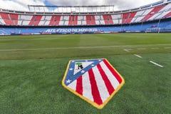 At Vicente Calderon Stadium Royalty Free Stock Image
