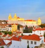 Vicente de Fora Monastery, Lisboa Fotografía de archivo libre de regalías