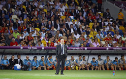 Vicente del Bosque, head coach of Spain national football team Stock Images