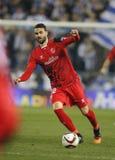 Vicente Iborra av Sevilla FC Arkivbilder