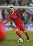 Vicente Iborra de Sevilha FC Imagens de Stock