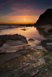 Vicentina Coast in Portugal Royalty Free Stock Photo