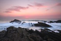 Vicentine海岸自然公园-葡萄牙- 图库摄影
