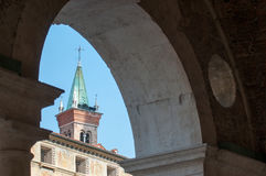 Vicenza churches Stock Images