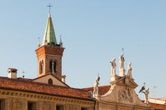 Vicenza churches Stock Image