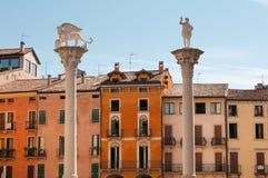 Vicenza hermosa Fotos de archivo libres de regalías
