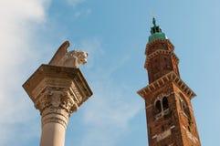 Vicenza hermosa Foto de archivo libre de regalías