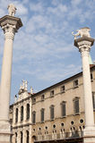Vicenza : The historic main square Stock Photo