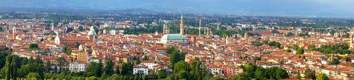 Vicenza. Italië Royalty-vrije Stock Afbeeldingen