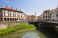 Vicenza, Italy. Square of September, 20th. Vicenza, Italy Royalty Free Stock Images