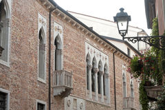 Vicenza (Italy): historic buildings Royalty Free Stock Photo