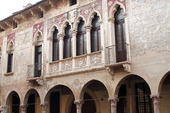 Vicenza (Italy): historic buildings Royalty Free Stock Image