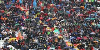 VICENZA, ITALY - October 13, 2015: UEFA Under-21 Championship Qu Stock Image
