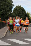 Vicenza, Italy, 20 September 2015. Marathon runners Stock Image