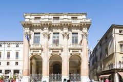 Vicenza Loggia del Capitaniato Arkivbilder
