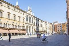 Vicenza Loggia del Capitaniato Royaltyfri Foto
