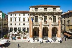 Vicenza, Loggia del Capitaniato Foto de archivo