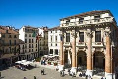 Vicenza, Loggia del Capitaniato Imagen de archivo libre de regalías