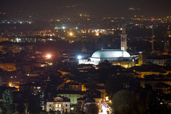 Vicenza at night Stock Image