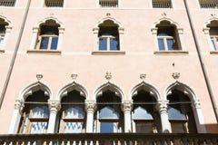 Vicenza Palladio gata Royaltyfri Bild